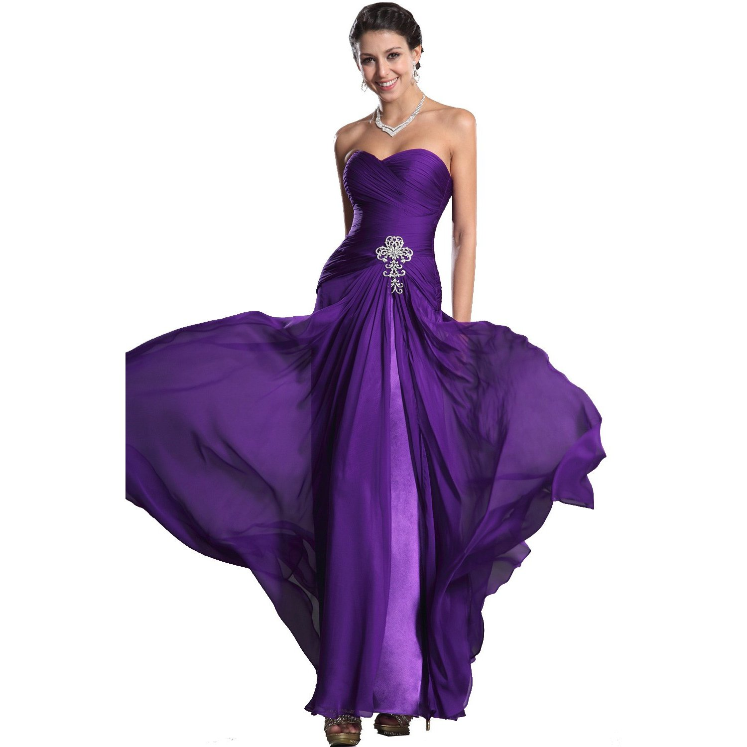 edressit sweetheart bustier robe de soiree mariee ceremonie longue violet robe longue d 39 ete. Black Bedroom Furniture Sets. Home Design Ideas